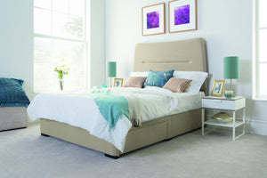 Swanglen Austin Upholstered Bedstead-Fabric Beds-Better Bed Company