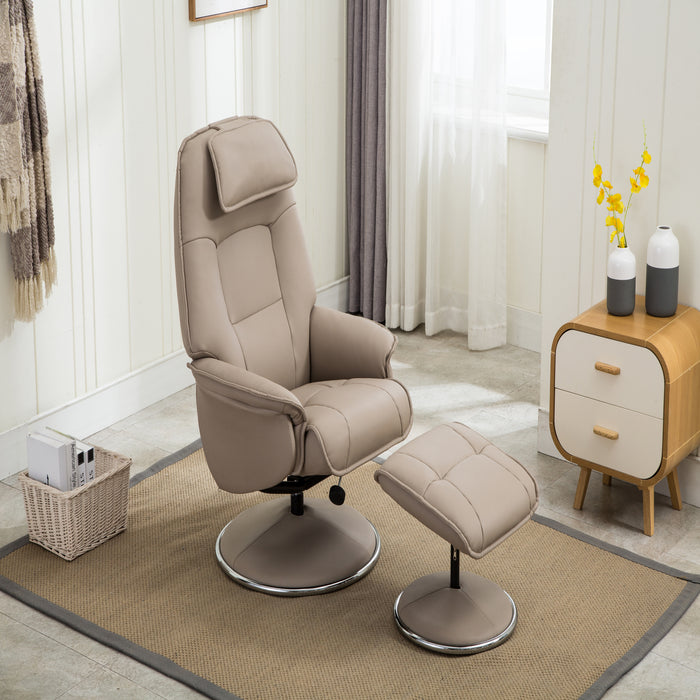 GFA Avant Garde Recliner And Foot Stool
