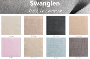 Swanglen Chapman Upholstered Bedstead Avalaible Colour Swatch Please Call For Price-Better Bed Company