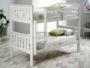 Bedmaster Carra Bunk Bed White-Better Bed Company