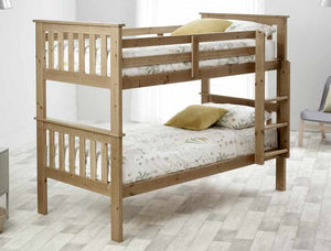 Bedmaster Carra Bunk Bed-Bunk Beds-Bedmaster-Pine-Better Bed Company