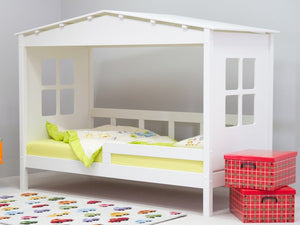Bedmaster Mento White Childrens Bed Frame-Better Bed Company