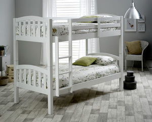 Bedmaster Mya Bunk Bed White-Better Bed Company