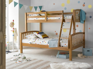 Bedmaster Mya Triple Sleeper Pine-Better Bed Company