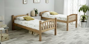 Bedmaster Mya Bunk Bed Pine As Two Singles-Better Bed Company