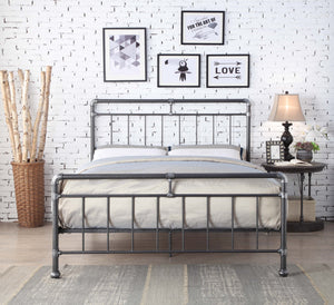 Flintshire Furniture Cilcain Bed Frame In Silver-Better Bed Company