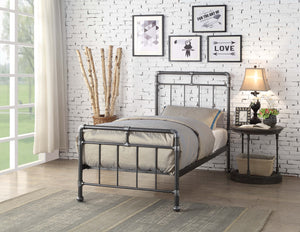 Flintshire Furniture Cilcain Bed Frame In Silver Single 3ft-Better Bed Company