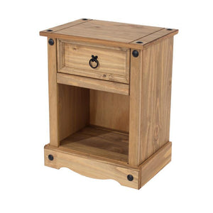 Core Products Corona 1 drawer bedside cabinet-Better Bed Company
