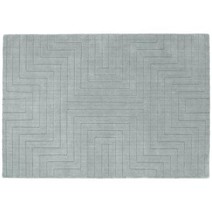 Origins Carved Maze Grey White Background-Better Bed Company