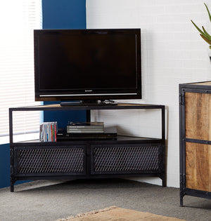 Indian Hub Ascot Corner TV Unit-Better Bed Company