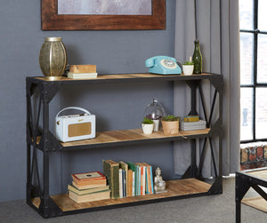 Indian Hub Ascot Console Bookcase-Better Bed Company