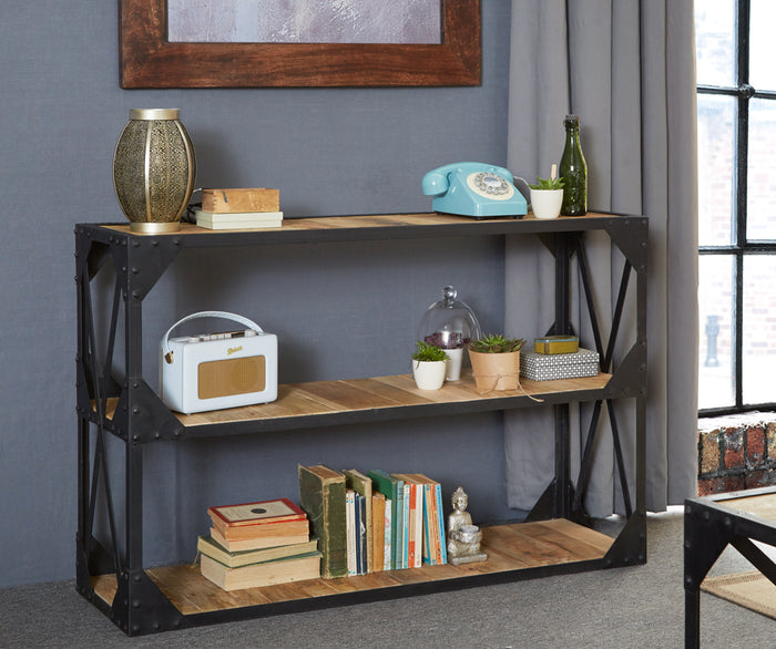 Indian Hub Ascot Console Bookcase