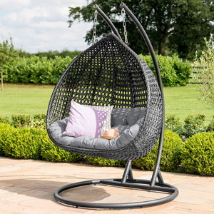 Maze Rattan Rose Hanging Chair-Better Bed Company