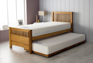 Airsprung Beds Falmouth Guest Bed-Guest Beds-Airsprung Beds-Single-No Mattresses-Better Bed Company