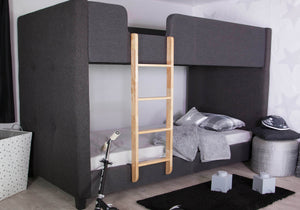Faze Charcoal Bunk Bed-Bunk Beds-Better Bed Company