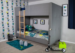 Faze Grey Bunk Bed-Better Bed Company