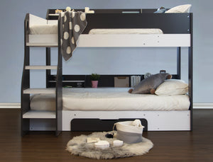 Febbie Grey Bunk Bed-Bunk Beds-Better Bed Company