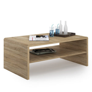 Furniture To Go 4 You Coffee Table In Sonoma Oak-Furniture To Go-Better Bed Company