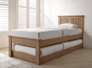 Flintshire Furniture Halkyn Guest Bed-Guest Beds-Flintshire Furniture-Oak-Better Bed Company