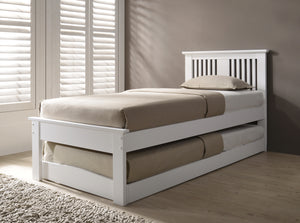 Flintshire Furniture Halkyn Guest Bed In White-Better Bed Company