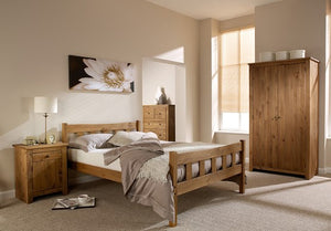 LPD Furniture Havana Pine Bed-Better Bed Company