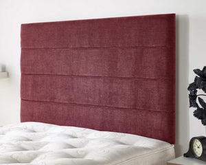 Better Haze Fabric Headboard-Better Bed Company-Single-Red-Better Bed Company