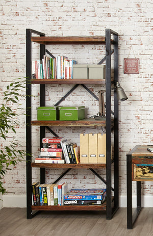 Baumhaus Urban Chic Large Open Bookcase-Baumhaus-Better Bed Company