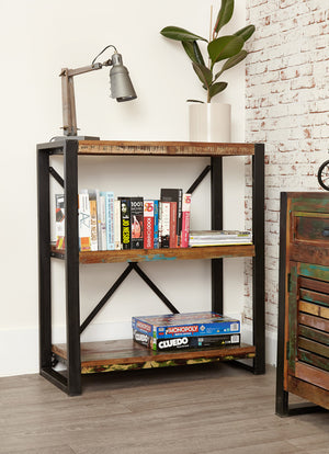 Baumhaus Urban Chic Low Bookcase Side View-Better Bed Company