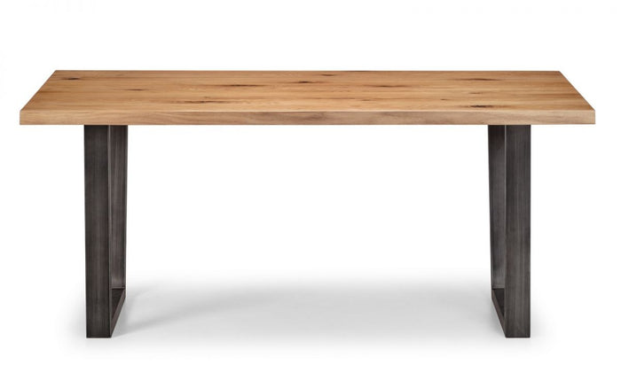 Julian Bowen Brooklyn Oak Dining Table