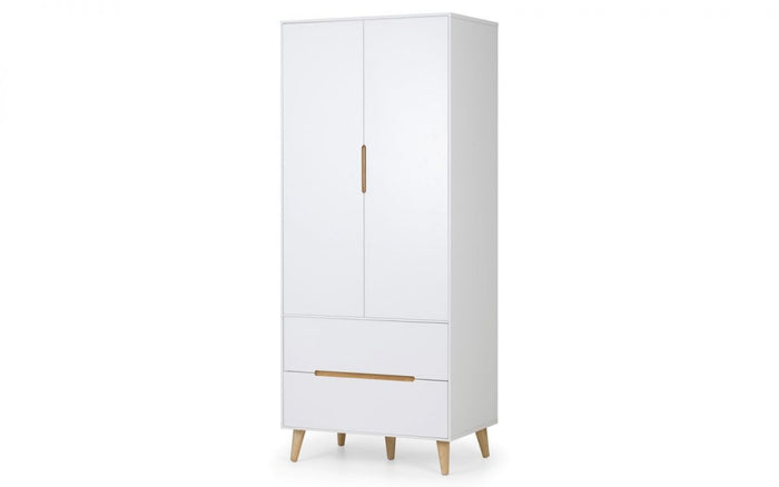 Julian Bowen Alicia 2 Door Combination Wardrobe