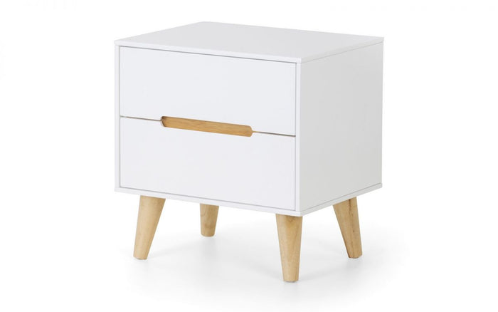 Julian Bowen Alicia 2 Drawer Bedside Chest