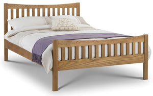Julian Bowen Bergamo Oak Bed Frame-Better Bed Company