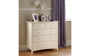 Julian Bowen Cameo 3+2 Drawer Chest-Better Bed Company