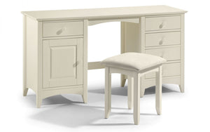 Julian Bowen Cameo Twin Pedestal Dressing Table-Better Bed Company