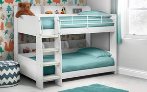 Julian Bowen Domino White Bunk Bed-Better Bed Company