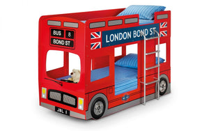 Julian Bowen London Bus Bunk bed-Better Bed Company