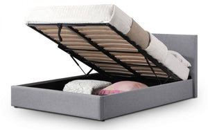 Julian Bowen Rialto Lift up Storage Bed Frame-Julian Bowen-4ft 6 Double-Better Bed Company