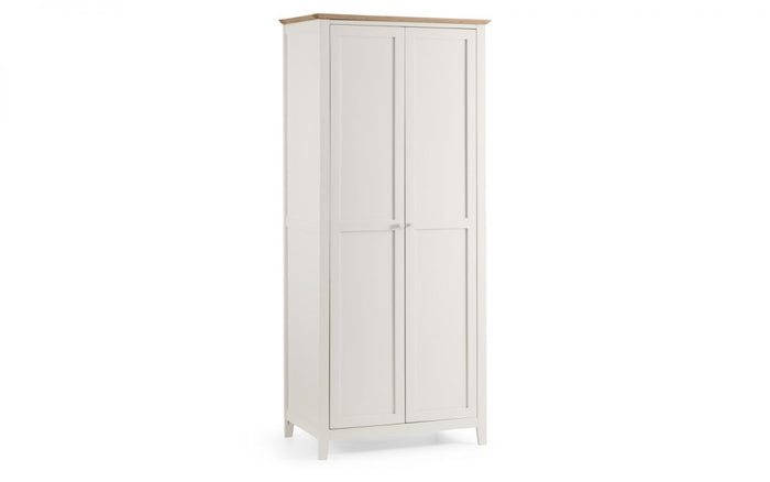 Julian Bowen Salerno 2 Door Two Tone Wardrobe
