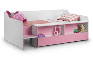 Julian Bowen Stella Low Sleeper Bed-Better Bed Company