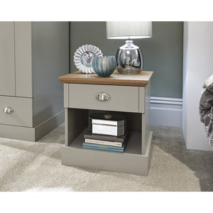 GFW Kendal 1 Draw Bedside Table-Better Bed Company