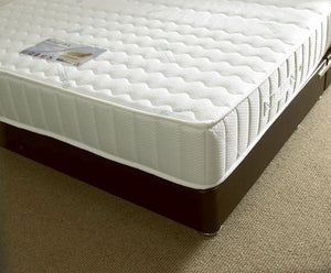 Kayflex Coolmax Memory Foam Mattress Corner View Close Up Of Cover-Better Bed Company