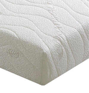 Kayflex Natural Touch Memory Foam Mattress Corner Fabric Close View-Better Bed Company
