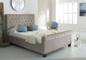 Libbie Mink Fabric Bed-Fabric Beds-Furn Beds-Double-Better Bed Company