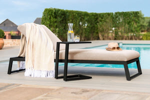 Maze Rattan Allure Sunlounger-Garden Furniture-Better Bed Company