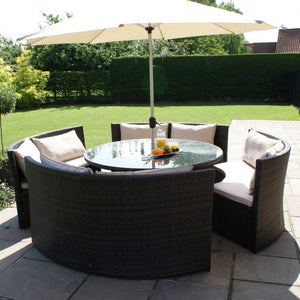 Maze Rattan Dallas Sofa Set-Garden Furniture-Better Bed Company