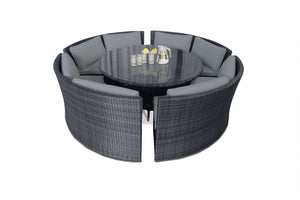 Maze Rattan Dallas Sofa Set