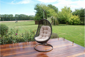Maze Rattan Malibu Hanging Chair-Garden Furniture-Better Bed Company