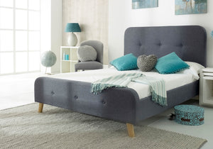 Niece Fabric Bed-Fabric Beds-Furn Beds-Double-Better Bed Company