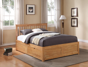 Flintshire Furniture Pentre Fixed Draw Bed Frame-Bed Frame-Flintshire Furniture-Double-Better Bed Company