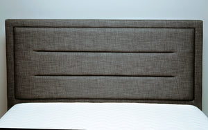 Emporia Beds Knightsbridge Ottoman Bed Headboard Front View-Better Bed Company
